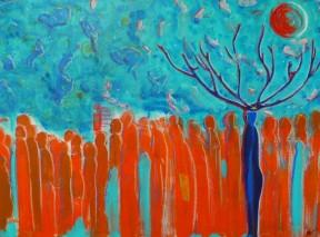 Der Schamane Und Die Träume - Bild von Nina Aristea Kiehl