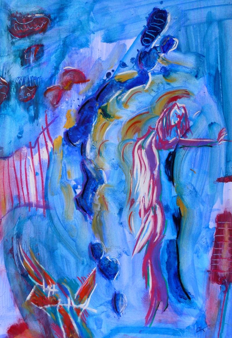 Engel - Bild von Nina Aristea Kiehl