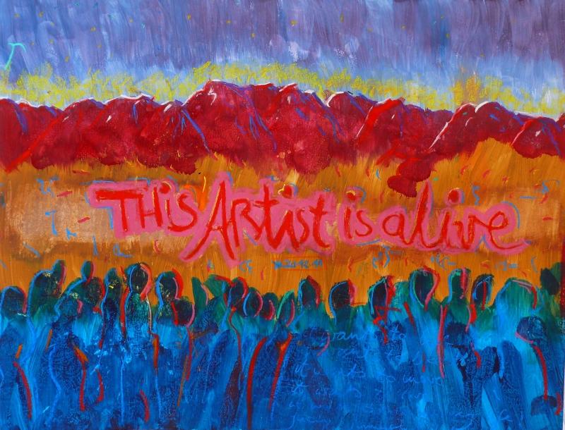 This Artist is Alive - Bild von Nina Aristea Kiehl